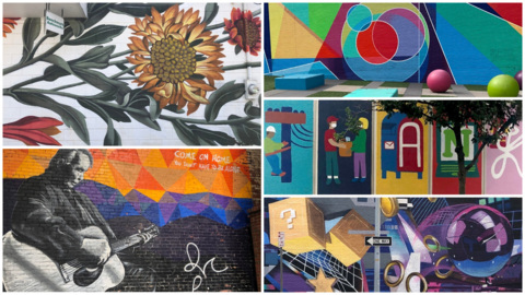 A splash of color here, a splash there. Here's 10 of our favorite Downtown Raleigh murals.