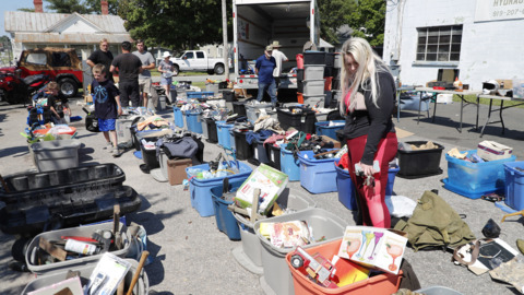 Experience the largest yard sale in NC
