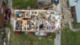 Drone video: Tornado in Greensboro had wind speeds of 135 mph