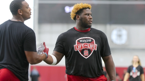 NC State football hosts Lift for Life