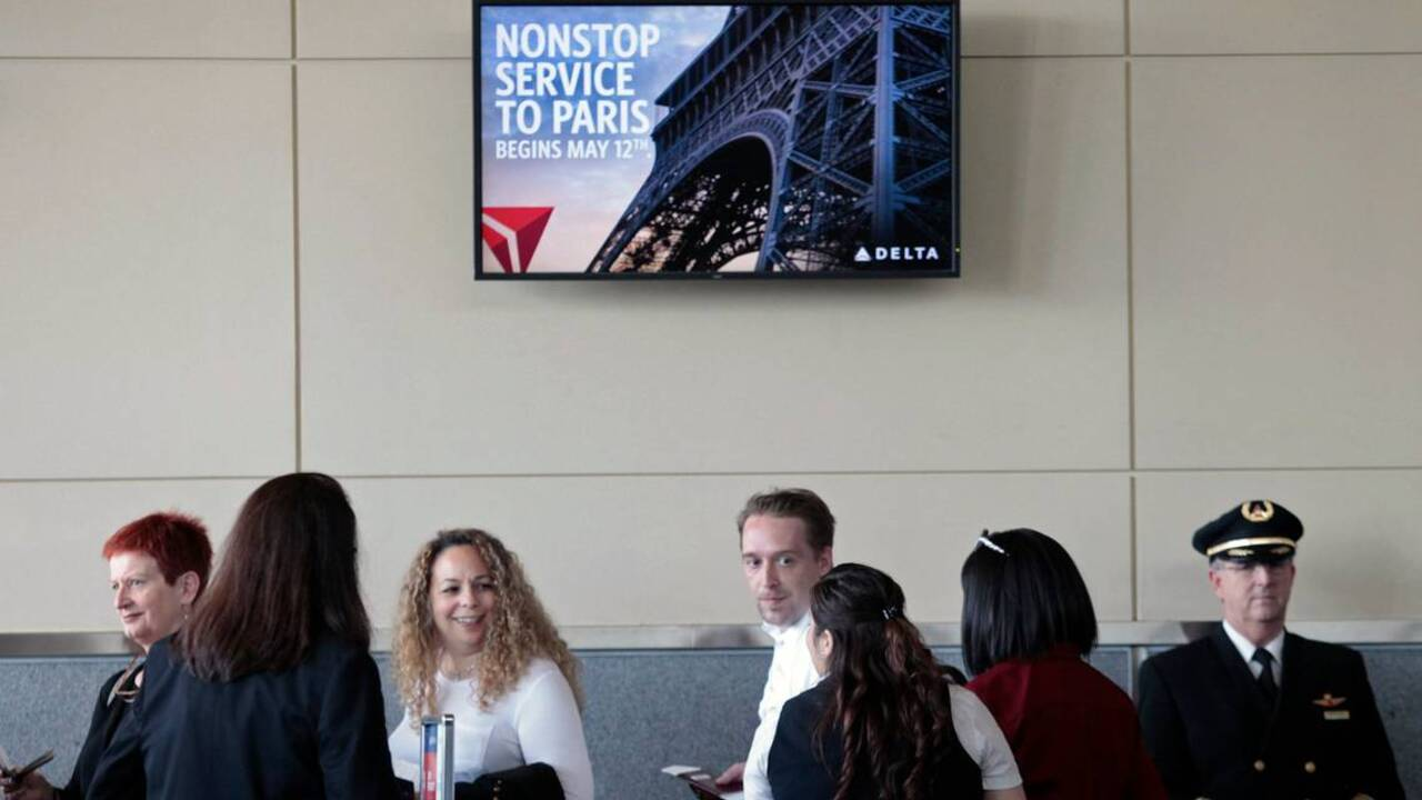 Delta's nonstop to Paris gets a big sendoff at RDU