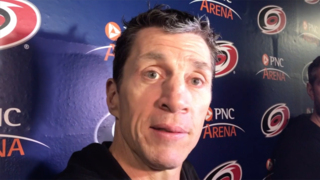 Canes' Brind'Amour can look ahead