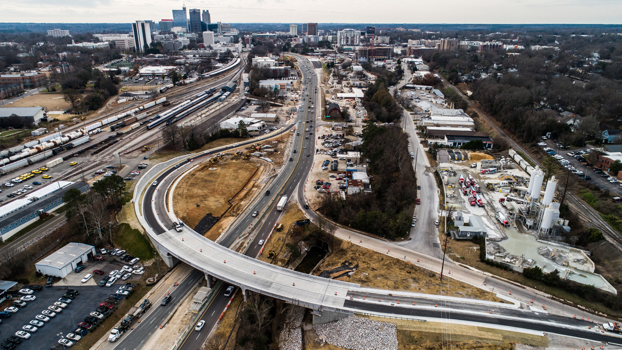 One Wade Avenue ramp in Raleigh closing, another reopening