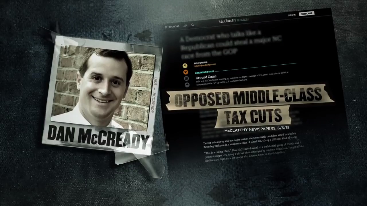 Fact check: Did Democrat McCready 'admit' to opposing middle class tax cuts?
