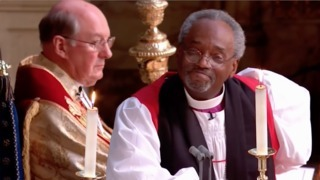 Bishop Michael Curry wows Royal Wedding crowd with sermon