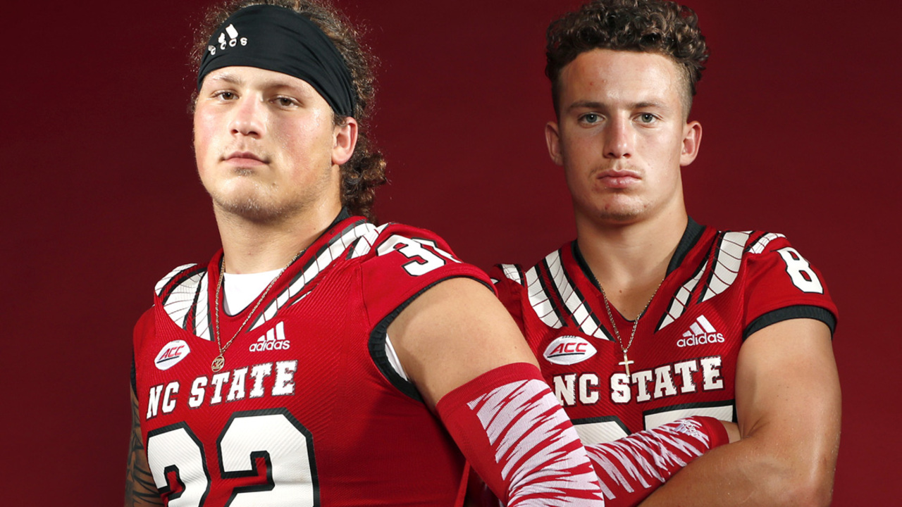 How brothers Thayer and Drake Thomas took different roads to NC State football