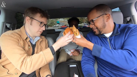 Is Popeyes' chicken sandwich worth the hype? We check it out.