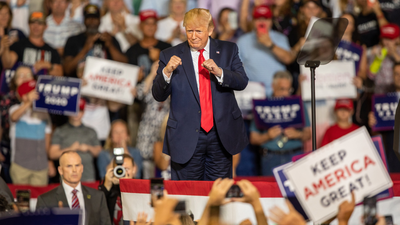 Trump called out by some Christians for using 'Lord's name in vain' at fiery NC rally