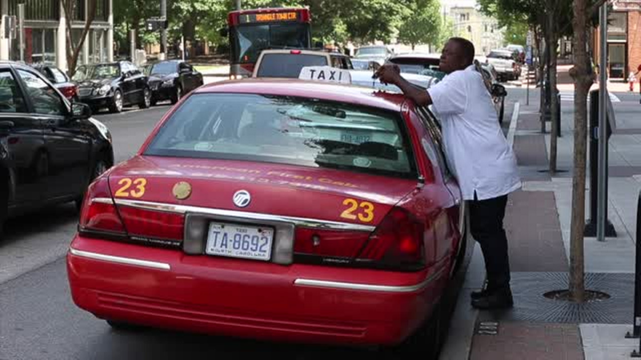 Triangle taxi drivers losing their battle with Uber, Lyft