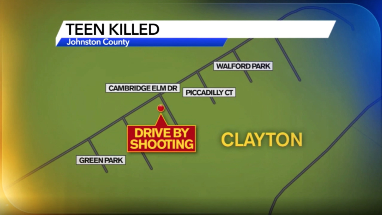 A 15-year-old boy was shot dead in Clayton. 3 suspects now in Johnston County jail.