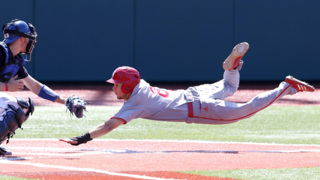 NC State's Will Wilson slides safely into home in victory over Duke