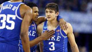 Duke's Grayson Allen looks back at his time with the Blue Devils