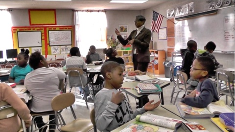 Wayne County school fights state takeover