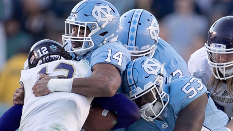 UNC football player Jake Lawler opens up about his depression