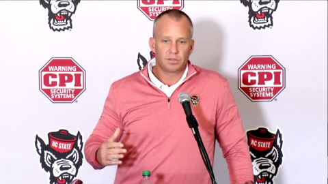 NC State's Doeren: 'The only team on our schedule I'm worried about is us'