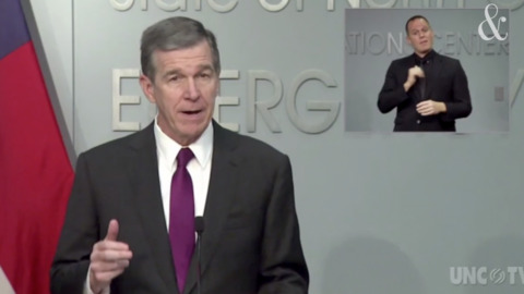 North Carolina Gov. Roy Cooper's full COVID-19 update, Sept. 22, 2020