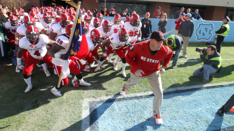 NC State's Doeren on how big the game with UNC is