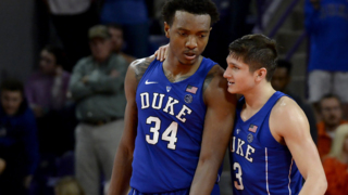 Duke's Allen, Wendell talk about team leadership before the team heads to Omaha