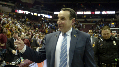 Krzyzewski breaks down win over Florida State as Blue Devils pull off last second victory