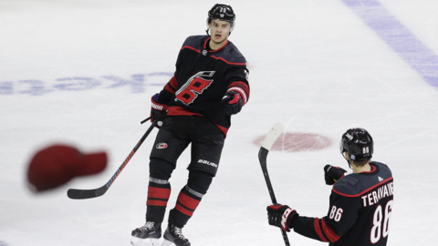Hurricanes dodge a bullet with tepid offer sheet for Aho