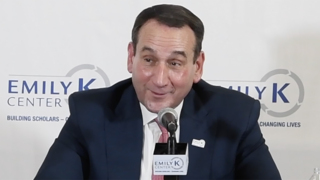 Coach K discusses upcoming basketball season in summer press conference