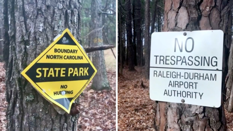 State says it would be willing to buy airport property next to Umstead State Park