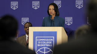 Rice: NCAA athletes should be able to return to college team if not drafted by NBA