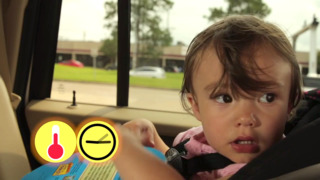 'Look Before You Lock' to prevent children left in cars