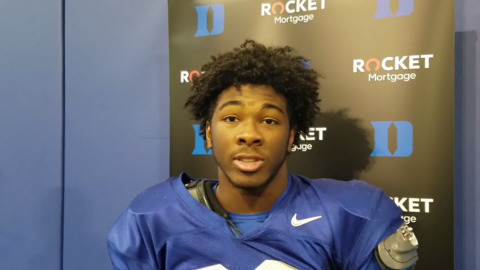 Duke's Chris Rumph said team has had Wake Forest 'marked on our schedule since last year'