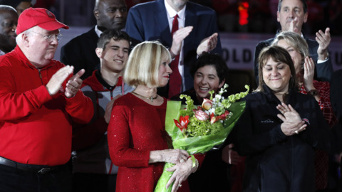 Valvano Arena dedicated at Reynolds Coliseum