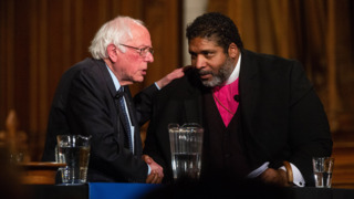 Bernie Sanders and Rev. Barber push for 'a moral economy' during Duke University visit