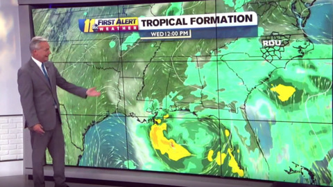 Will the system in the Gulf of Mexico impact the Myrtle Beach area? Here's what we know