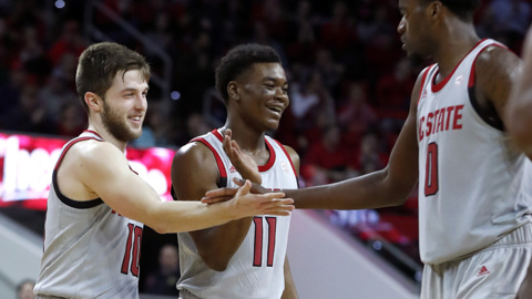 Good defense, great bounce help NC State handle Boston College in overtime