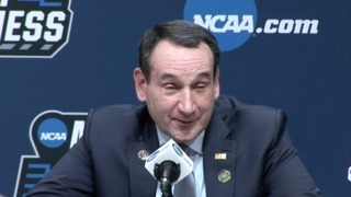 Duke's Krzyzewski talks about breaking Pat Summitt's win record