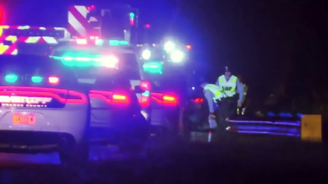 Man killed in hit and run while changing tire on I-40 in Orange County