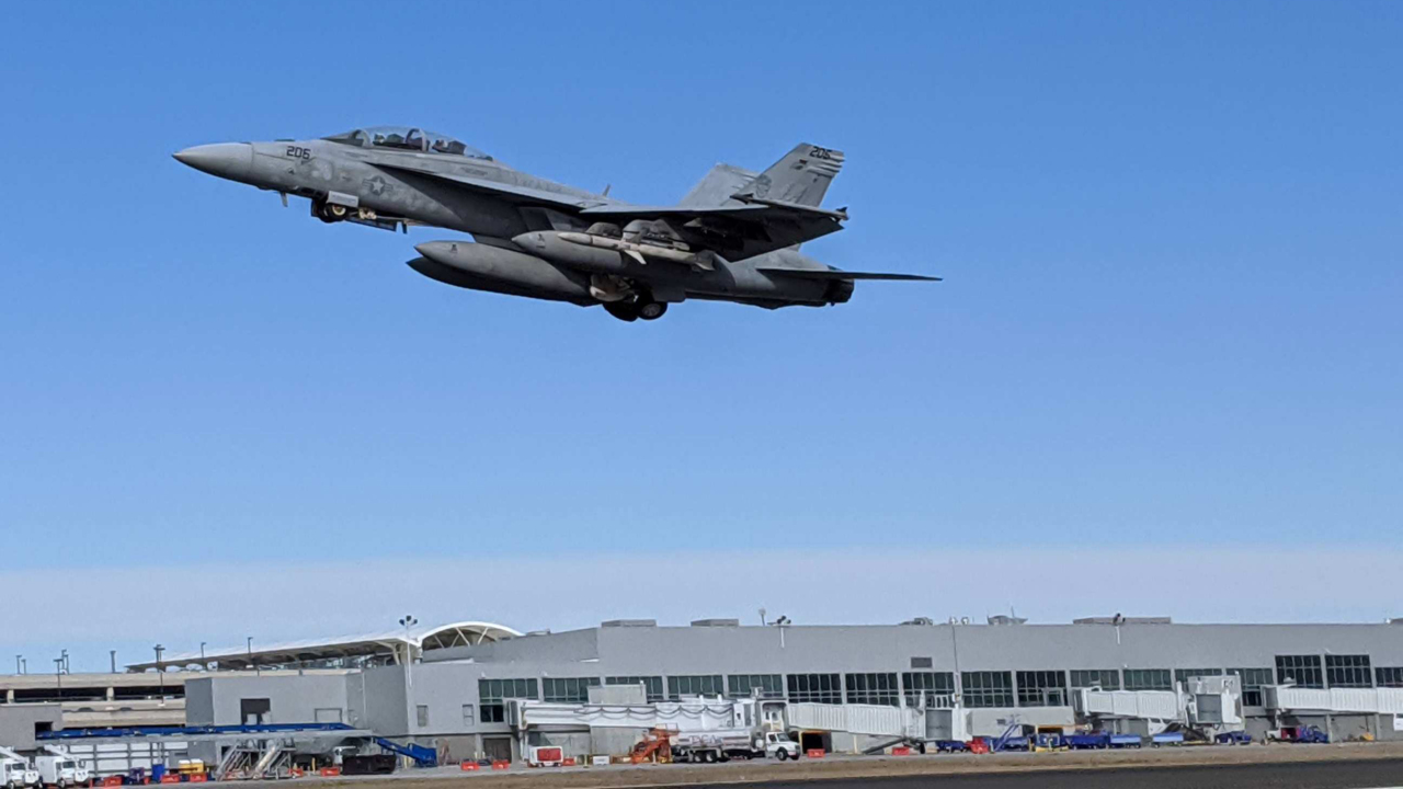 Those loud, rumbling noises near Cary are military aircraft flying from RDU airport