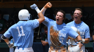 UNC jumps on Stetson ace and takes Game 1 in NCAA Super Regional series