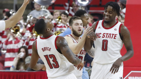 NC State's Keatts talks about victory over FIU