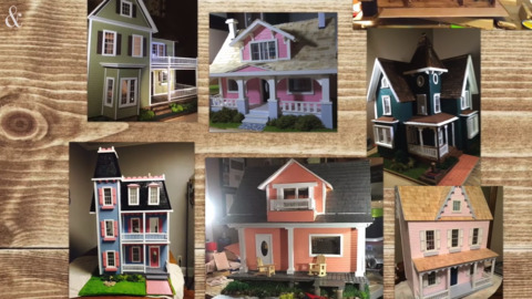 Parkinson's survivor Barry Roberson makes dollhouses for children with cancer and friends in need
