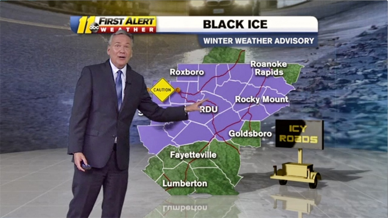 Watch out for black ice in the wake of winter storm | Durham
