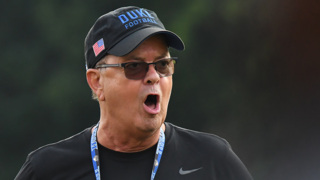 Duke coach David Cutcliffe discusses sophomore Michael Carter II's move from safety to cornerback