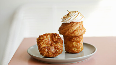 Layered Croissanterie in Raleigh serves pastries worthy of a Paris shop window