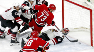 'Good to see them doing it right,' says Canes' Peters after win over Coyotes