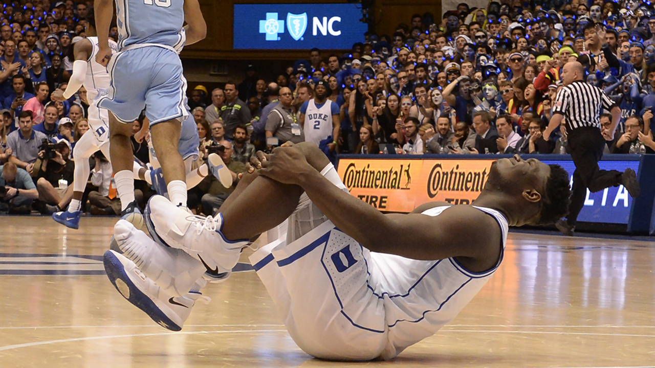 254fe90e30e Duke s Zion Williamson not first to have Nike shoe blowout