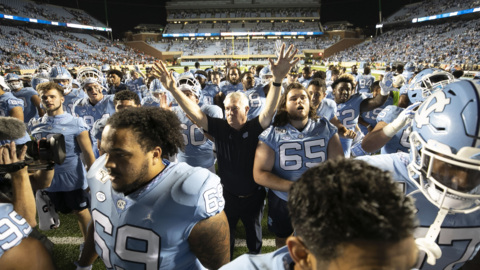 After a 2-0 start, does UNC deserve to be in the top 25? Its players think so.