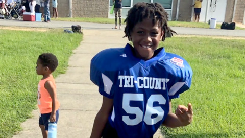'All she do is cry.' Life changed for family after shooting of 9-year-old Z'yon Person