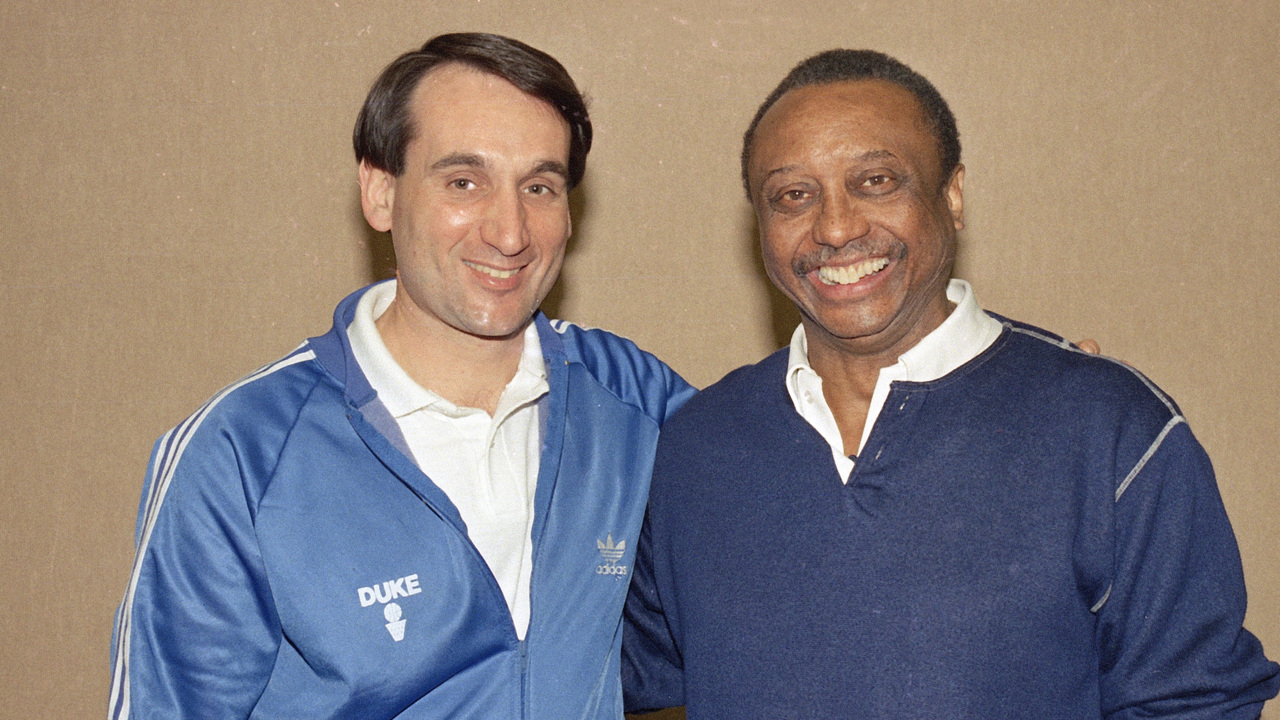 Coach K honors John Chaney for 'knocking down a lot of barriers'