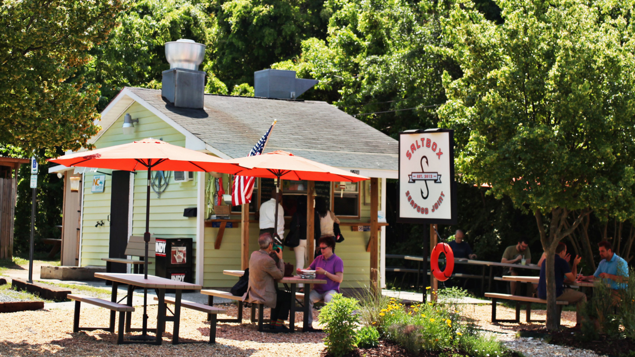 Saltbox Seafood Joint In Durham Reopens Its Original Location For