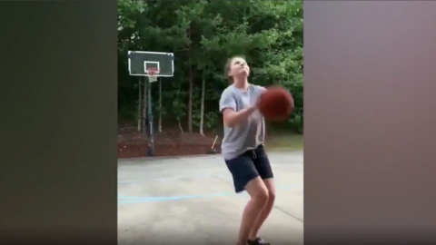 800,000 people have seen this video of UNC women's basketball player's amazing shots