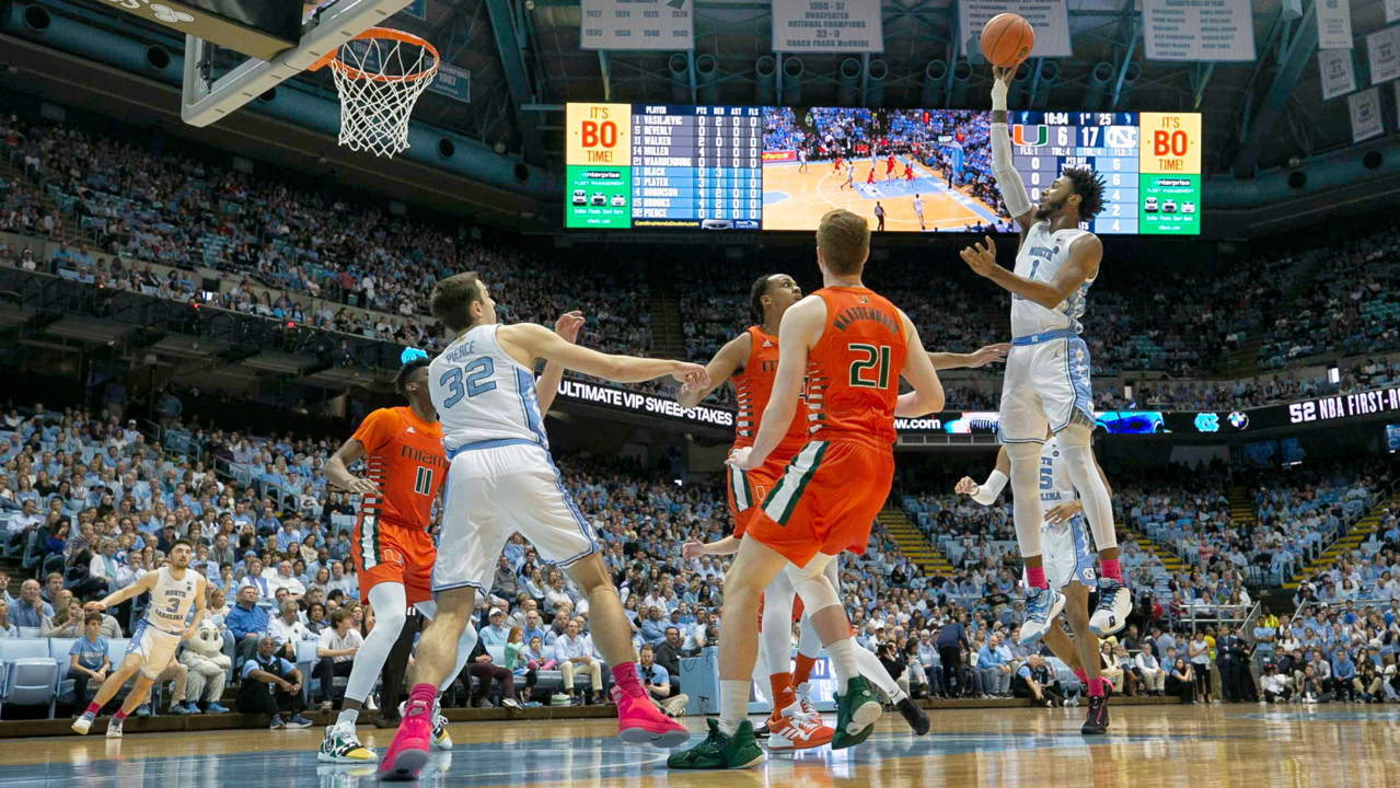 Roy passes Dean on all-time wins list as UNC blows out Miami